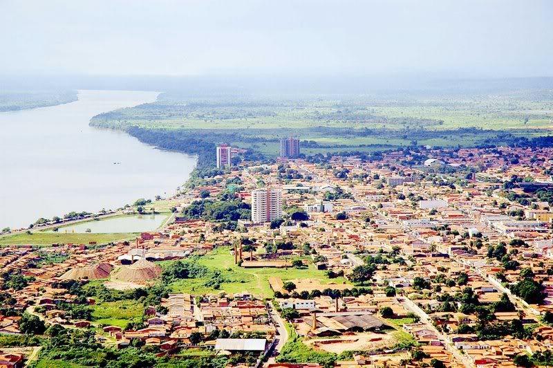 Vista aérea de Imperatriz Maranhão